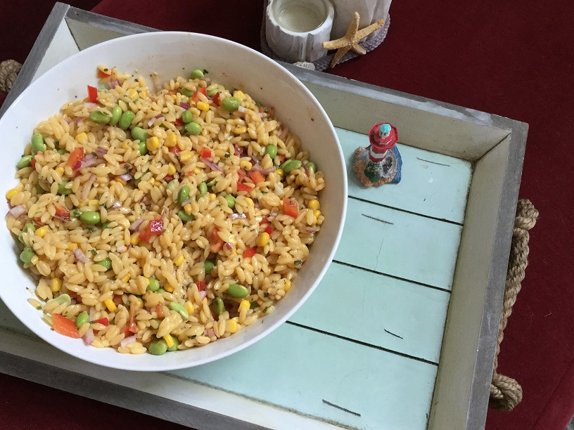 4th of July Orzo Salad