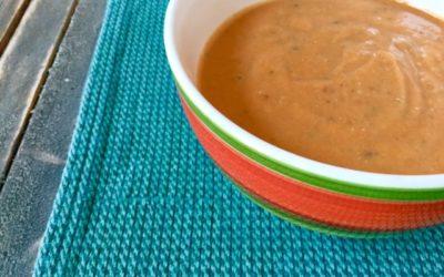 Creamy Thanksgiving Veggie Soup